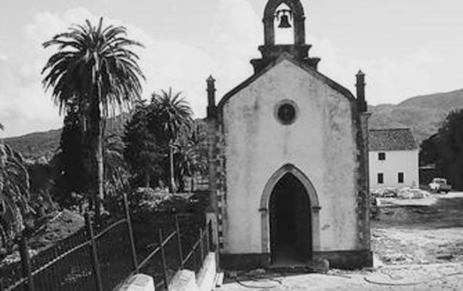 """Capilla del cortijo de """"El Marrufo"""", en el término de Jimena de la Frontera, en el se encuentra una de las fosas con mayor número de fusilados de la Guerra Cilvil en la zona de Jerez."""