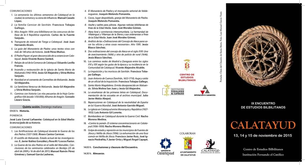 IX ENCUENTRO DE ESTUDIOS BILBILITANOS_Página_2
